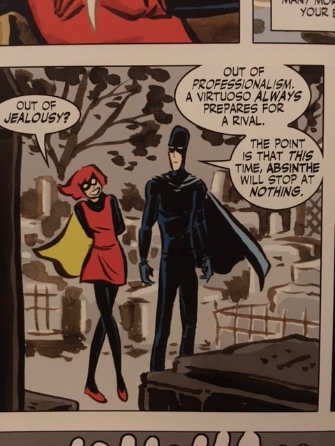 Example Panel from Bandette